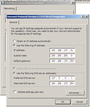 Configuring the IP Address
