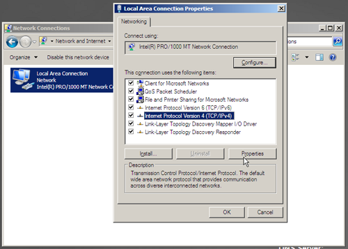 SQL Server VM - Network Settings