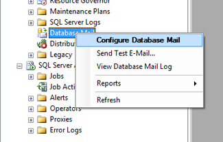 SSMS DatabaseMail