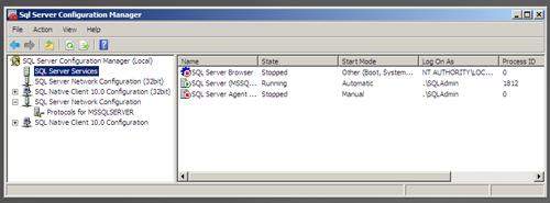 SQL Server 2008 R2 Setup - SQL Server Configuration