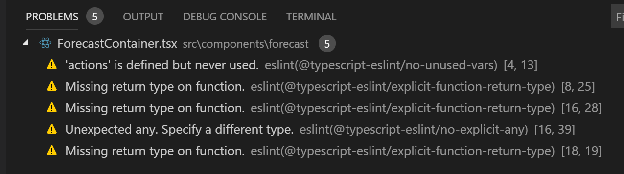 Swapping tslint for eslint w/ react-scripts 3 0 0